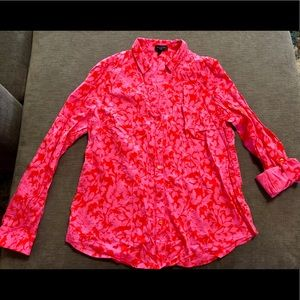 The Limited Ashton Blouse Collared Large button up
